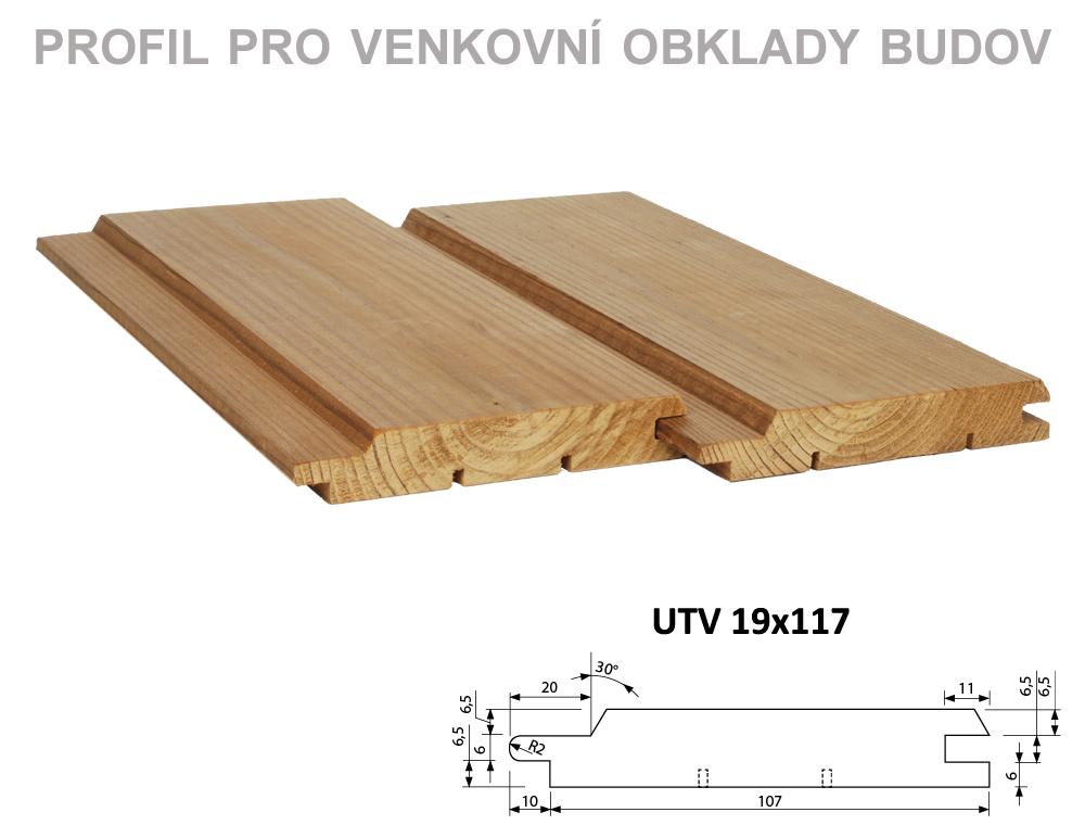 ThermoWood je tepelně upravené dřevo pro venkovní obklady budov.